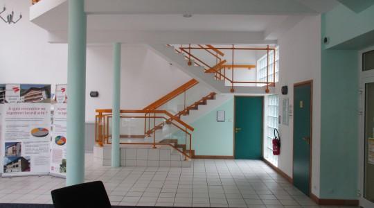 Mise en accessibilité PMR d'une mairie