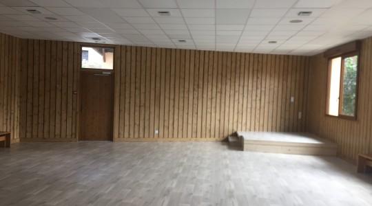 Réaménagement d'une salle poyvalente